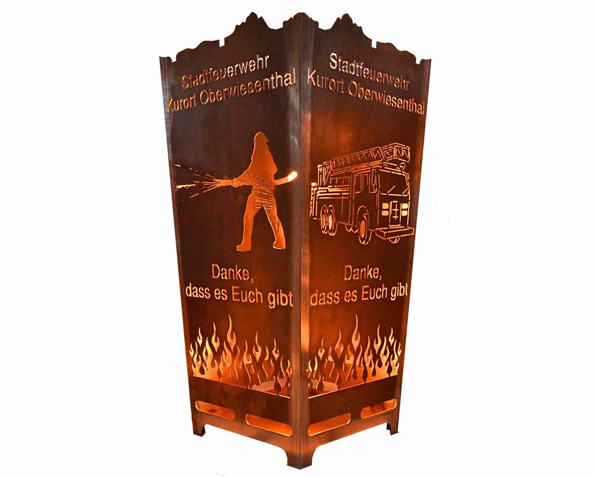 Feuerkorb Feuerwehr Oberwiesenthal