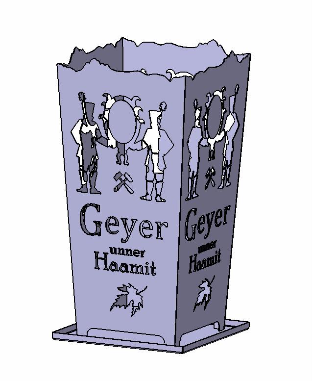 Feuerkorb Geyer unner Haamit