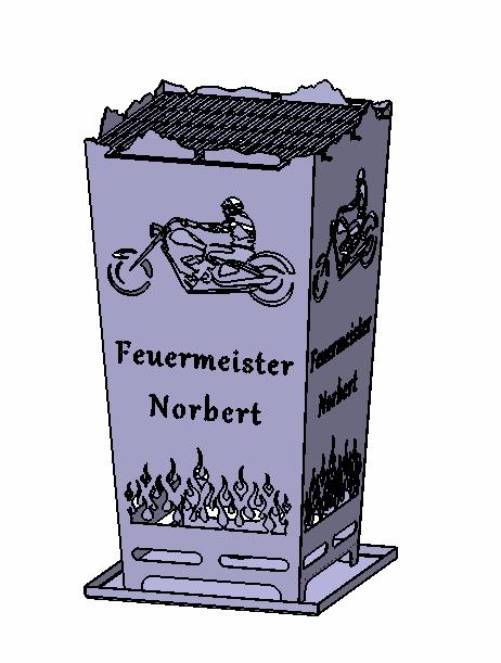Feuerkorb Feuermeister Norbert