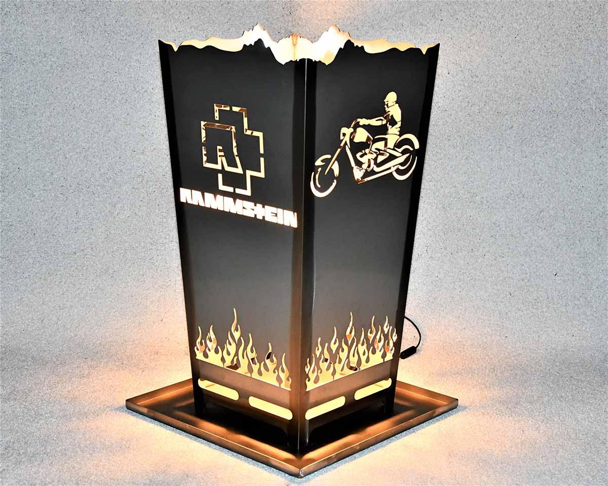Feuerkorb Motorrad