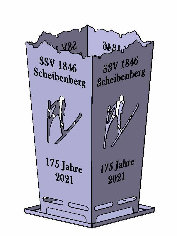 Feuerkorb SSV Scheibenberg