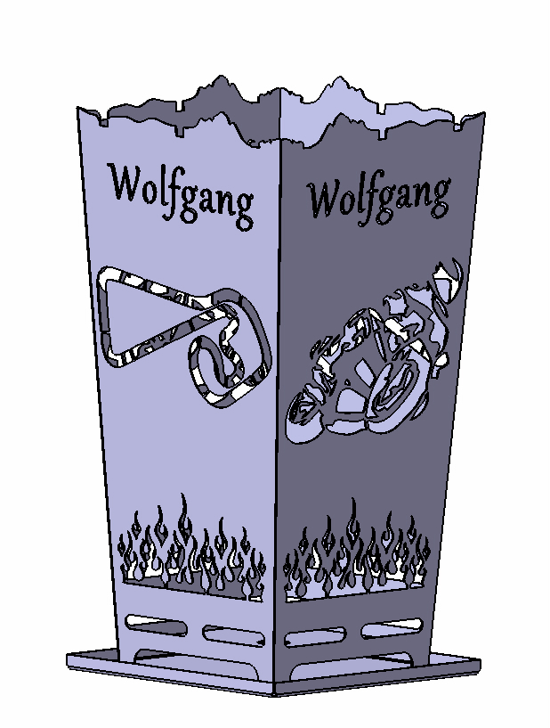 Feuerkorb Sachsenring