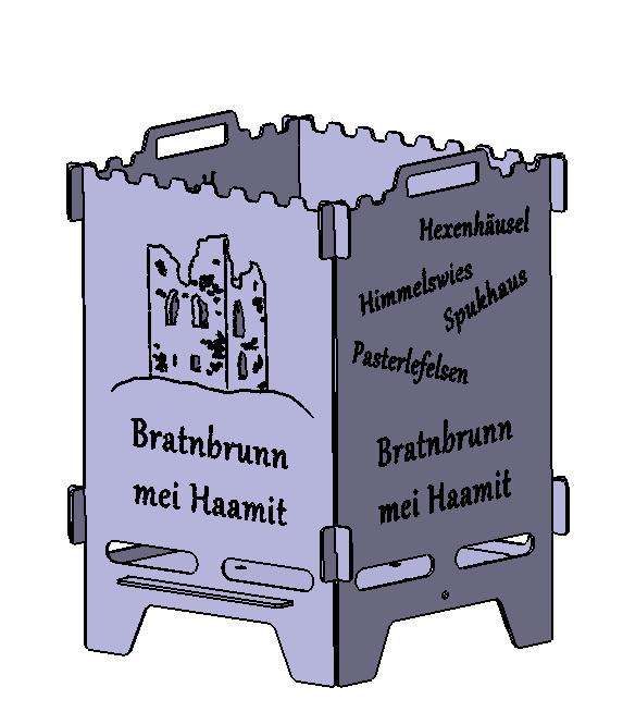 Feuerlaterne Bratnbrunn