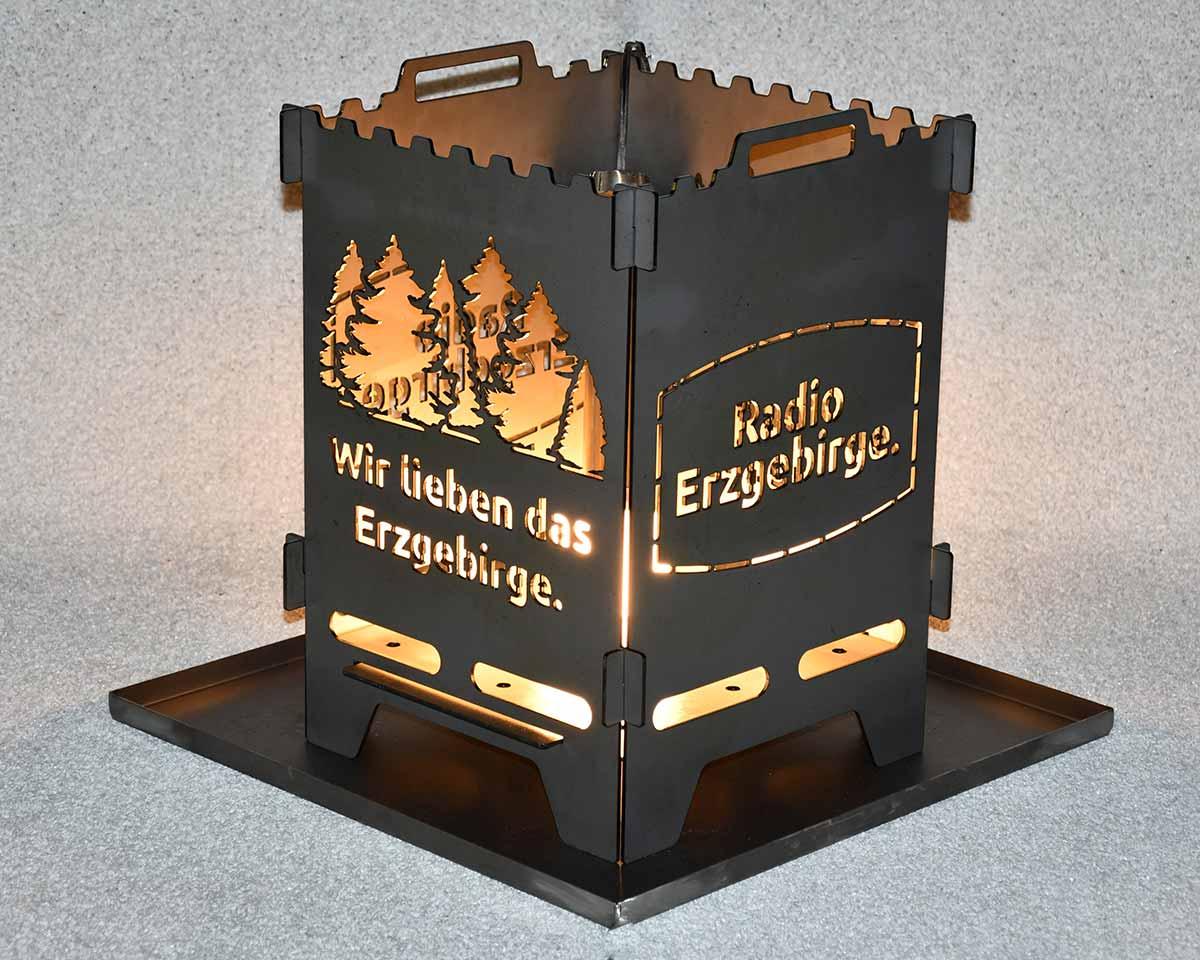 Feuerlaterne Radio Erzgebirge