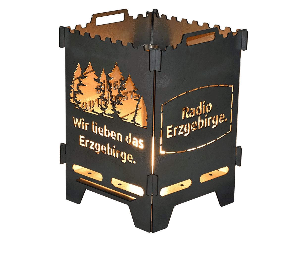 Feuerlaterne Erzgebirge Sonderedition